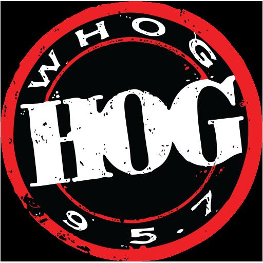 WHOG-FM 95.7 The Hog logo