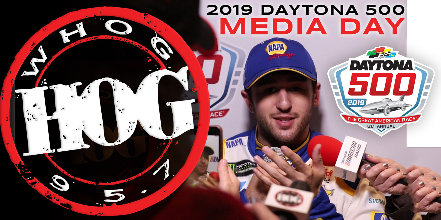 2019 Daytona 500 Media Day