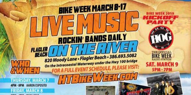 Hidden Treasure 95.7 The Hog Bike Week Party