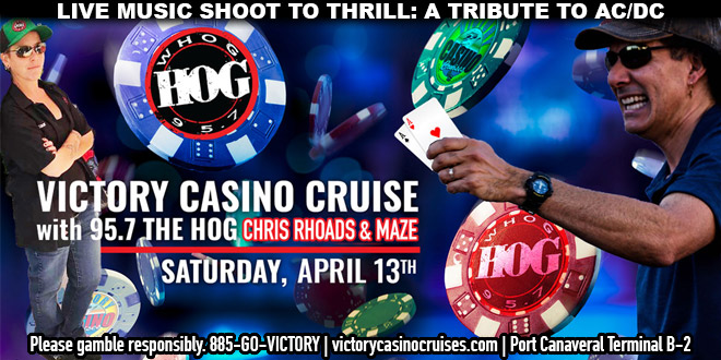 Victory Casino Cruise with Chris Rhoads and Maze!