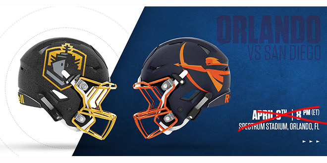 Say Goodbye to the Orlando Apollos, the AAF Suspended Operations Today