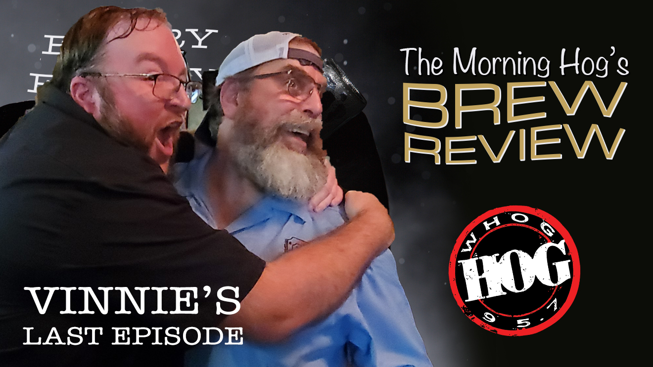 Vinnie's last Morning Hog Brew Review
