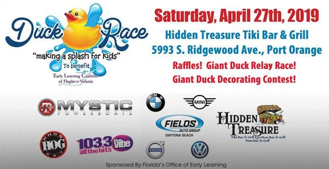 Duck Race at Hidden Treasure Port Orange