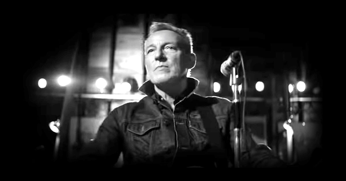bruce springsteen screenshot music video tucson train