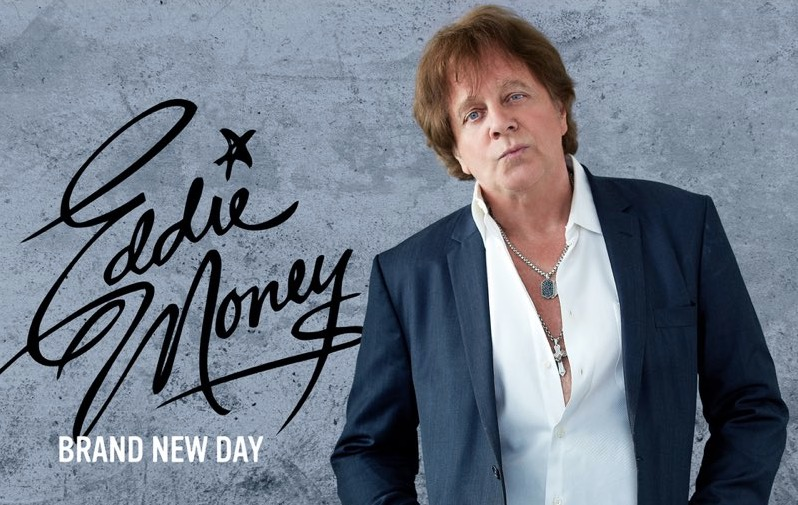"Eddie Money's new album cover ""Brand New Day"""