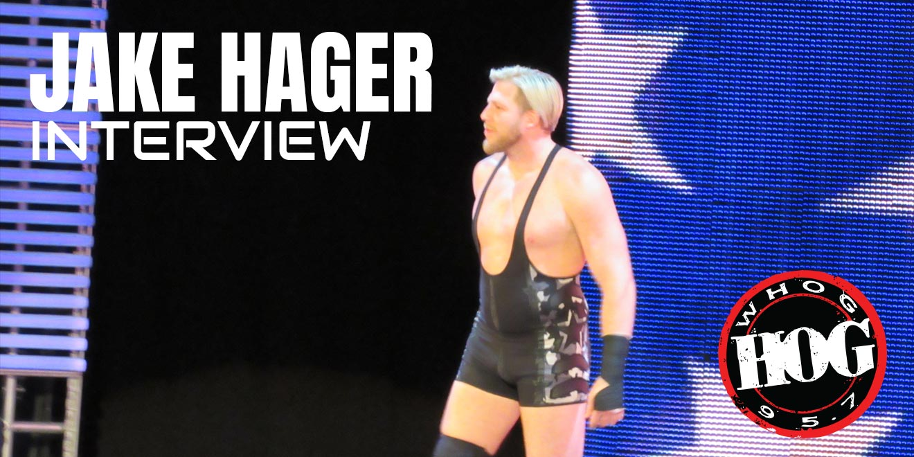 "Jake Hager aka ""Jack Swagger"" interview with Riggs from the Morning Hog on 95.7 The Hog"