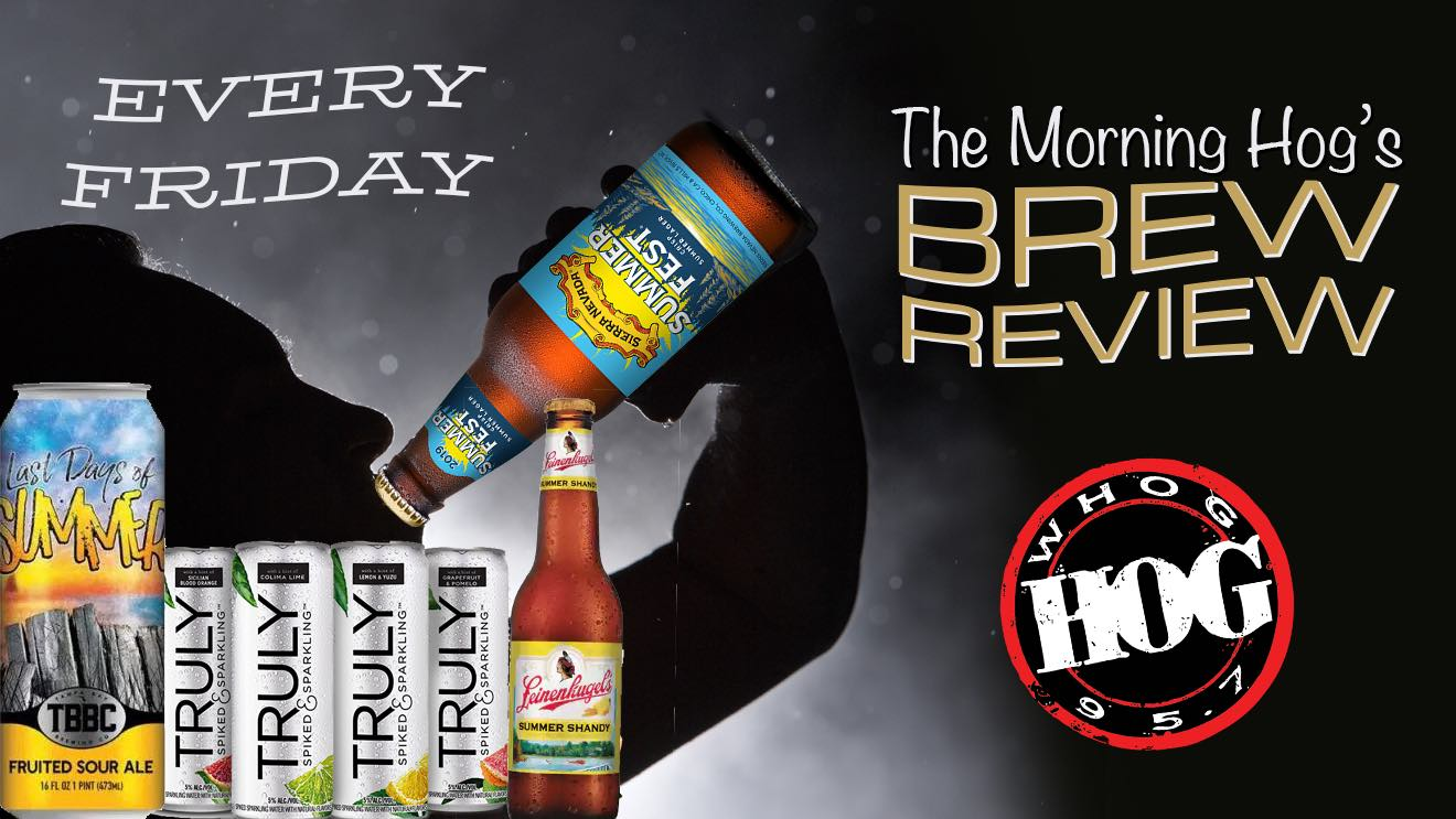Morning Hog's Brew review Truly, Sierra Nevada, TBBC, and Leinenkugel