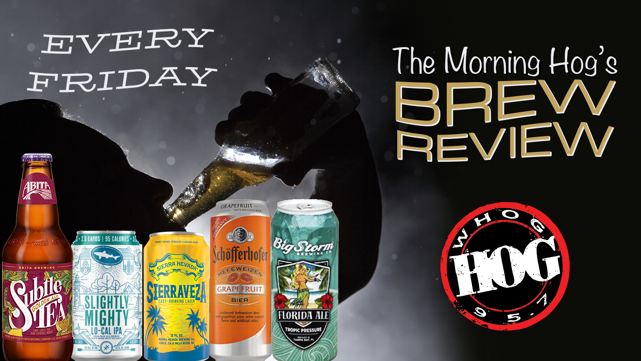 Morning Hog Brew Review: Abita, Big Storm, Schofferhofer, Sierra Nevada, Dogfish Head