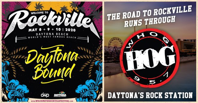 95.7 The Hog Welcomes Rockville 2020 To Daytona!