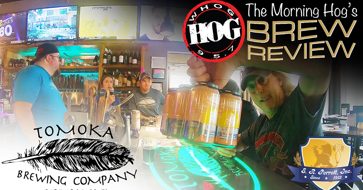 Brew Review Tomoka Brewing on location