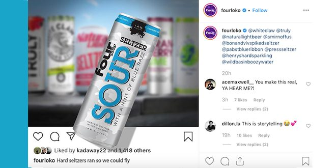 Did Four Loko Just Announce a 14% Hard Seltzer?