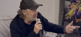Watch: Clips From Metallica HQ – Riggs Asks Lars to Play Tennis & DWP Gives $25K To Metallica's All Within My Hands Foundation