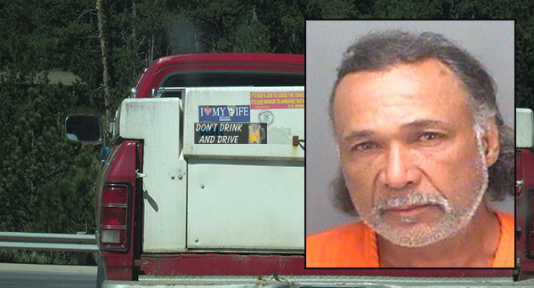 """Largo [Florida] Man with a """"Don't Drink and Drive"""" Bumper Sticker Is Arrested for . . . Well,"""
