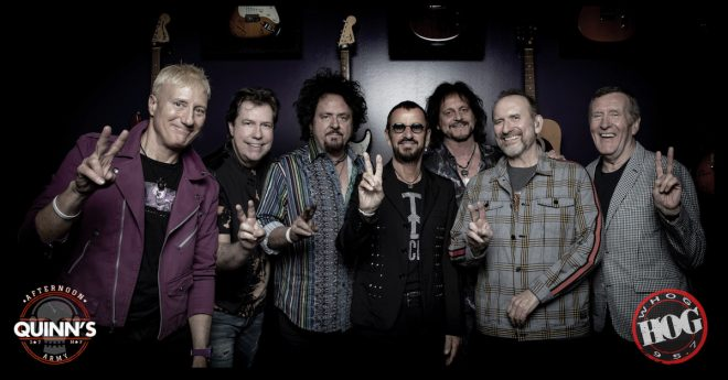 WIN WITH QUINN @ 4:20 | TICKETS TO SEE RINGO STARR AT THE AMP
