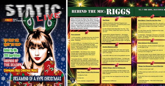 Read Riggs' Article In Static Live Magazine December Issue
