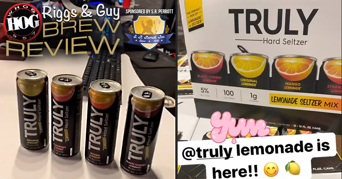 Brew Review Truly Hard Seltzer Lemonade