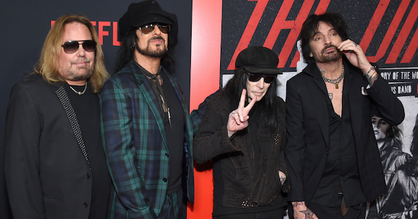 Mötley Crüe Releases 2020 'Shout at the Devil' Music Video Featuring Footage From TH DIRT