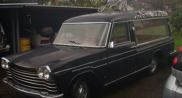 Cali Man Steals SUV Parked In Front Of Church, Turns Out To Be A Hearse