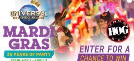 95.7 The Hog wants you to enjoy Mardi Gras at Universal Orlando Resort!
