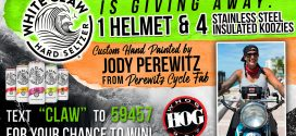 Enter To Win A Custom Hand-Painted Jody Perewitz Helmet!