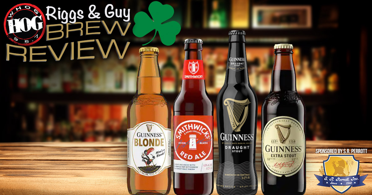 Brew Review St Pattys Guinness Smithwicks S.R. Perrott