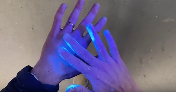 WATCH: How to See Germs Spread