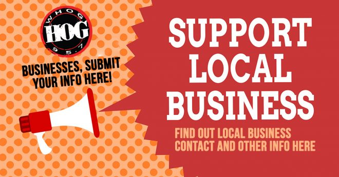 95.7 The Hog Supports Local Small Business