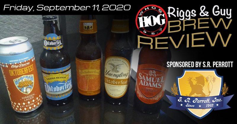Brew Review September 11, 2020 Oktoberfest Beers