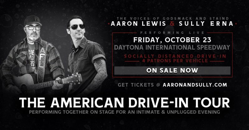 Aaron and Sully live drive-in concert