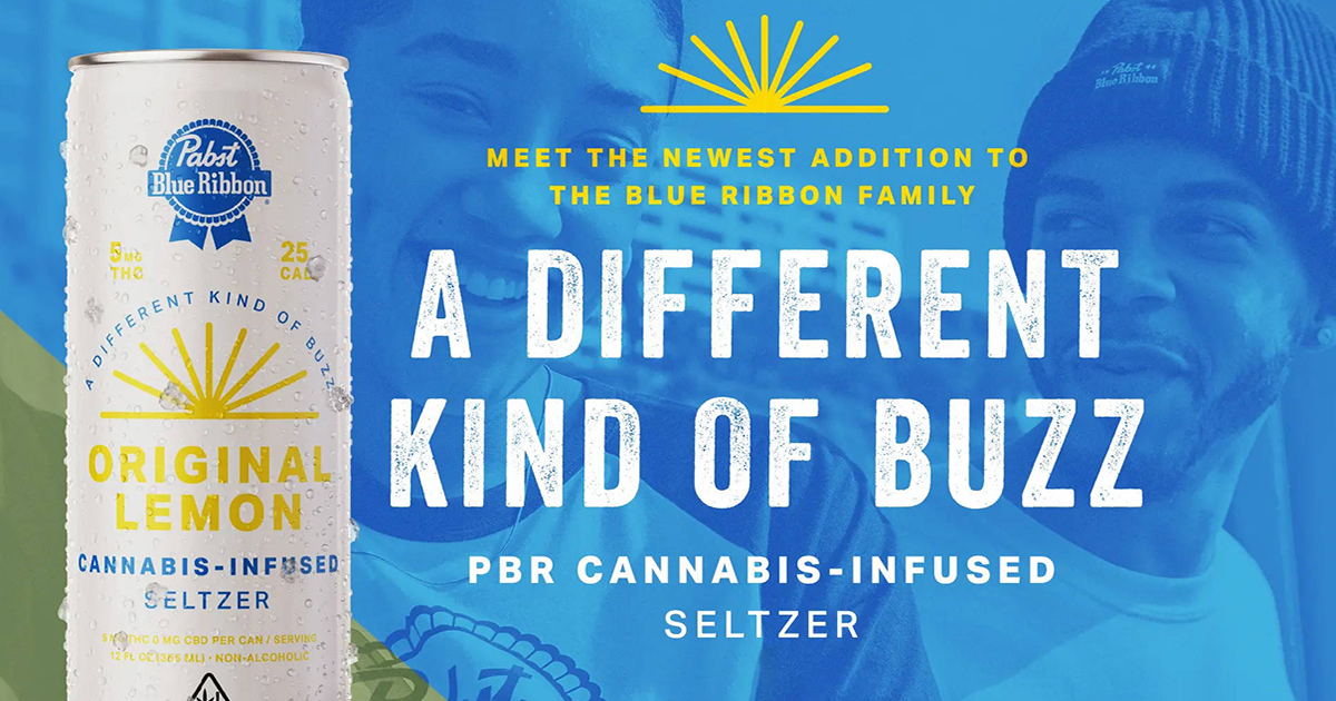 Pbr Just Released A Weed Infused Seltzer 95 7 The Hog