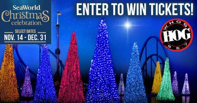 Enter to win SeaWorld Christmas Celebration