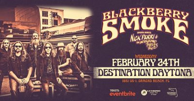 BLACKBERRY SMOKE @ Destination Daytona Feb. 24, 2021