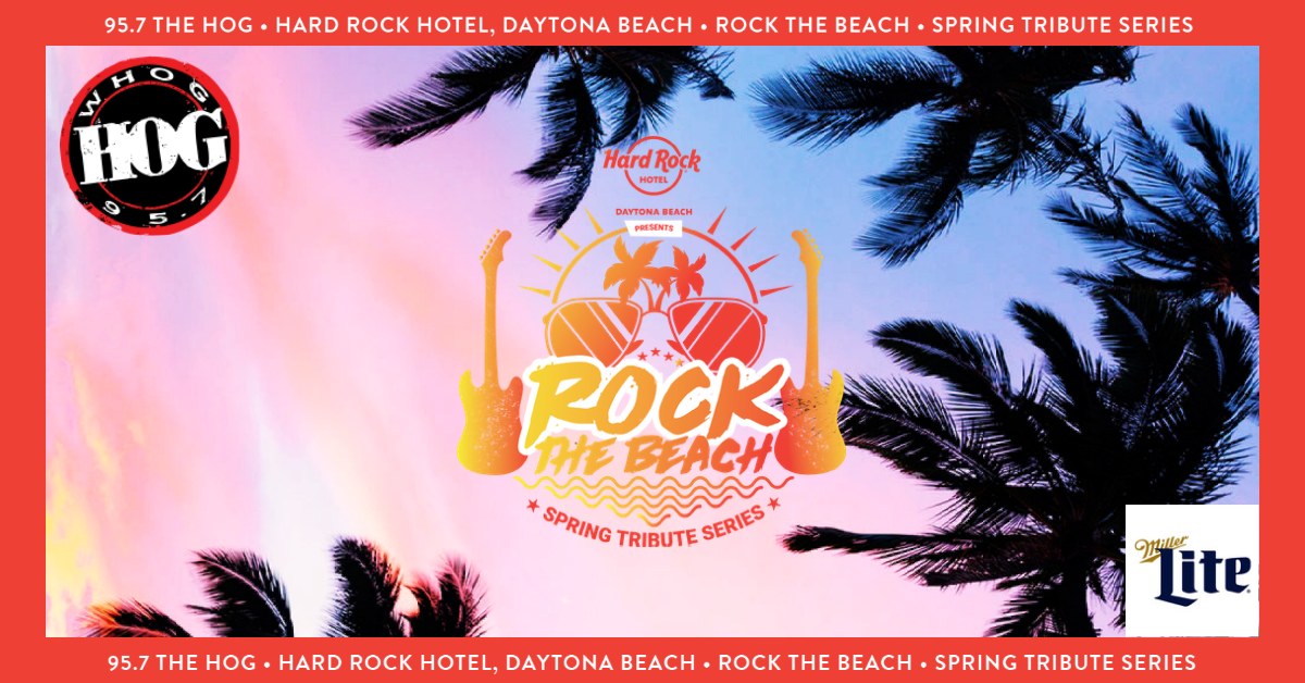 Rock The Beach Spring Tribute Series