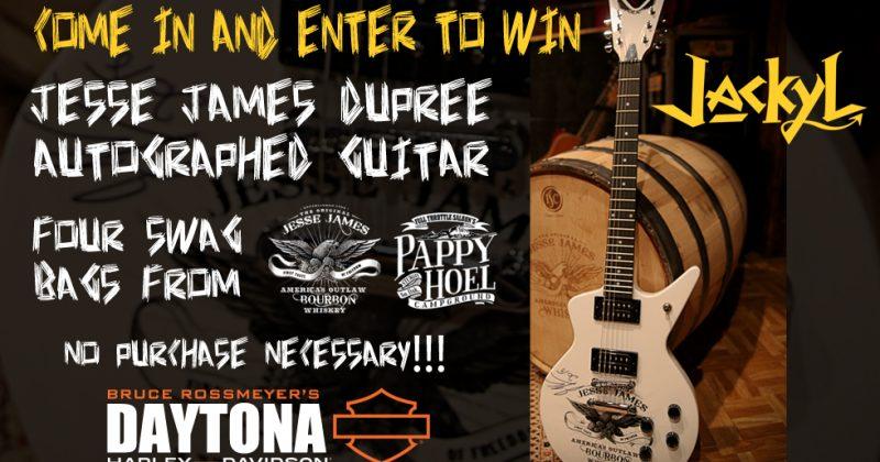 Enter to Win at Bruce Rossmeyer's Daytona Harley